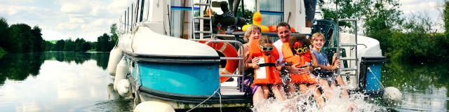 La vie à bord d'un bateau habitable d'Anjou Navigation