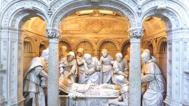 Abbaye Saint-Pierre de Solesmes Ensemble de Saints Sculptés