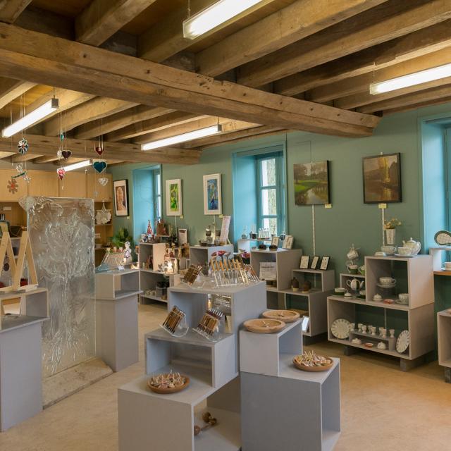 Artisanat d'art au Moulin à Couleur de Malicorne-sur-Sarthe