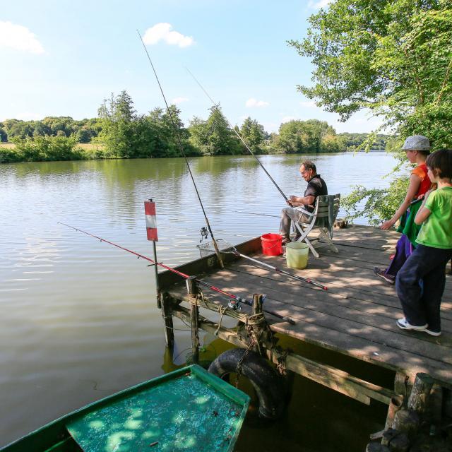 La pêche sur la Sarthe avec les enfants